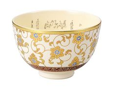 Kutani tea bowl white grain TetsuSen (fine print input ) size diameter 12.3cm ~ 8.0cm high wooden box * Check this awesome product by going to the link at the image.
