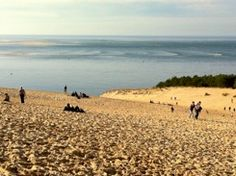 Landes of Gascony: this is the Dune du Pyla, the most famous in Europe, ranging from 100 - 117m in height, 500m wide and 2.7km long