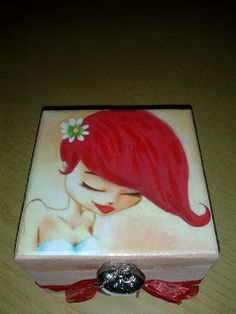 mydina y sus manualidades: cajas y mas cajas decoradas Decorated Boxes, Decoupage Box, Cigar Boxes, Craft Box, Paper Napkins, Vintage Wood, Gift Wrapping, Hand Painted, Frame