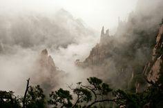 Las montañas de los bosques colgantes (Huangshan, China)