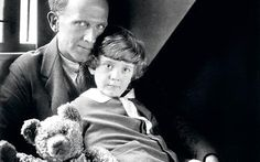 AA Milne, with his son Christopher Robin and PoohPhoto: HULTON/GETTY