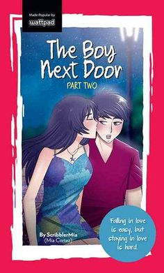 Falling inlove is easy but staying inlove is hard Wattpad Published Books, Wattpad Book Covers, Wattpad Books, Wattpad Stories, Pop Fiction Books, Books To Read, My Books, The Boy Next Door, Tagalog