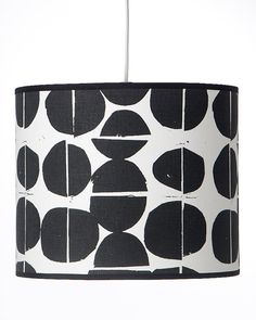 9 dia x 7 high Coins design drum lampshade hand by MintprintStore, £53.00