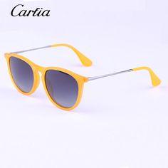 2015 New Metal Acetate Sunglasses Vintage Erika Sun Glasses Star Glasses Women Brand Designer Cat Eye Oval Glasses With Original Case Spitfire Sunglasses Native Sunglasses From Luckcat, $18.23| Dhgate.Com
