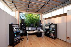John Rodd's mix studio.