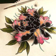 ♣ Linda ♣ - ♣ Linda ♣ - tattoo for men tattoos tattoo tattoo japones tattoo tattoo traditional Asian Tattoos, Leg Tattoos, Body Art Tattoos, Sleeve Tattoos, Tatoos, Japanese Flower Tattoo, Japanese Flowers, Flower Tattoo Designs, Flower Tattoos