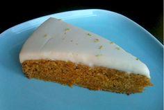 Zdravé Torty: Mrkvová torta s limetkou