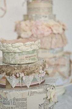 Stacked (Pretty!) Hatboxes