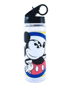 Take a look at this Mickey Circle & Stripes Tritan Water Bottle today! 20 Oz Water Bottle, Disney Water Bottle, Water Bottle Design, Water Bottles, Disney Kitchen, Plastic Tumblers, Disney Home, Disney Addict, Cup Design