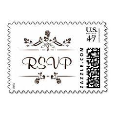RSVP Vintage Stamp