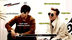 Lol T.O.P.'s reaction...or lack thereof xD I love him!