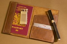 DTB Safari Leather Passport Card Wallet by DTBros on Etsy, £20.00