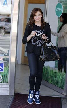 Steal Chloe Moretz's style!