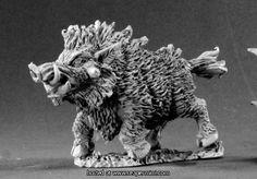 Dire Boar - Reaper Miniatures : 03435