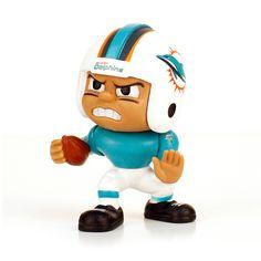 404c0078a7d Miami Dolphins NFL Lil Teammates Vinyl Runningback Sports Figure (2 3 4  Tall)