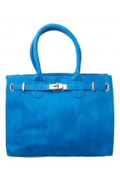Painted Jenae Structured Belt Tote in BLUE #4818 - colette by colette hayman