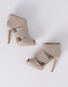Sandália efeito descaído peep toe | Sapatos & Bolsas | NOVO! | SHOP ONLINE SUITEBLANCO.COM