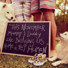 Pregancy announcement I'm expecting Pregnant