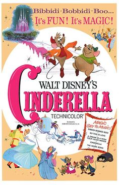1950:Cinderella animated musical fantasy film produced by Walt Disney. Based on the fairy tale Cendrillon by Charles Perrault, it is twelfth in the Walt Disney Animated Classics series.At the time, Walt Disney Productions had suffered from losing connections to film markets due to the outbreak of World War II, enduring some box office disasters like Pinocchio, Fantasia, and Bambi. At the time, however, the studio was over $4 million in debt and was on the verge of bankruptcy. (HG)