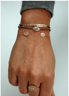 dainty accessories: ring & bracelets