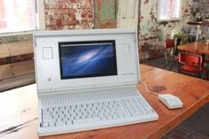 A Vintage Macintosh Portable All Souped Up And Running OSX