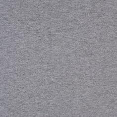 Sweatshirt Gray Cotton Jersey Fabric by the Yard | Mood Fabrics