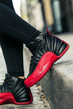 "Remastered to a tee, the 2016 Air Jordan 12 ""Playoff"" release lives up to the historical sneaker worn by Michael Jordan during his memorable Flu Game performance in 1997."