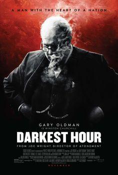 New Poster for 'Darkest Hour' - Winston Churchill Biopic Starring Gary Oldman Ben Mendelsohn and Lily James