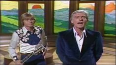 Screenshot from John Denver's appearance on the Van Dyke And Company TV special in 1976.