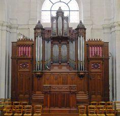 Paris V eglise St-Jacques orgue choeur