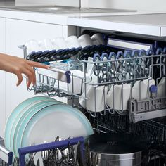 Not a fan of drying dishes out of the dishwasher? The Active Fan Drying system allows the dishes to come out at a normal temperature - meaning you can pop them straight into the cupboard!