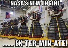 Nasa's new engine looks like a Dalek