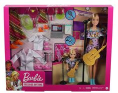 Barbie Puppy, Barbie Kids, Barbie Doll Set, Doll Clothes Barbie, Barbie Doll House, Barbie Fashionista, Barbie Chelsea Doll, Original Barbie Doll, Disney Characters Costumes
