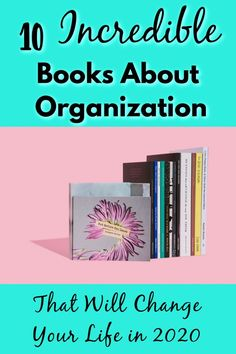 These 10 books about organization will inspire you to get your life together, declutter your home, and organize your l Declutter Books, Declutter Your Home, Organize Your Life, Organizing Your Home, Organizing Toys, Decluttering, Garage Organization Tips, Office Organization, Entertainment Center
