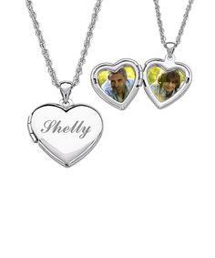 Look at this #zulilyfind! Silver Personalized Heart Locket Pendant Necklace by Limogés Jewelry #zulilyfinds