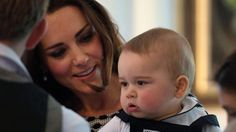 Prince George in New Zealand 9 april 2014