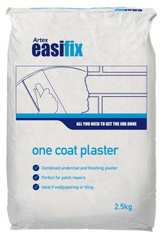 Artex Easifix One Coat Plaster 2.5kg | Departments | DIY at B&Q