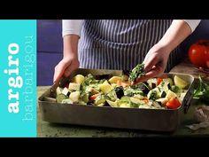 Μπριάμ παραδοσιακό στο φούρνο από την Αργυρώ Μπαρμπαρίγου | Κλασική συνταγή για το εύκολοτερο παραδοσιακό φαγητό του καλοκαιριού, με νόστημα λαχανικά! Briam, Good Food, Yummy Food, Delicious Recipes, Legumes Recipe, One Pan Dinner, Veggie Dishes, Tray Bakes, Potato Salad