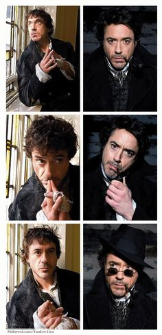 Is there anything Robert Downey Jr. does not do well? I adore his Sherlock! Sherlock Holmes Robert Downey, Robert Downey Jnr, Sherlock Holmes 3, Hero Marvel, Holmes Movie, Guy Ritchie, Adventure Movies, Iron Man Tony Stark, 221b Baker Street