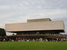 3. The Cultural Center of the Philippines by Leandro Locsin    This is an iconic Filipino architecture because it was constructed to serve as a primary performance and exhibition venue for various local and international productions; a venue where the performing arts can be well appreciated by the people.