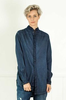Umit Unal – Et Vous Fashion Boutique Denim Button Up, Button Up Shirts, Shades Of Grey, Fashion Boutique, Pullover, Stylish, Collection, Tops, Atelier