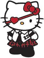 Hello Kitty Gootti/ Rock /erikoisemmat Hello Kitty tuotteet (Hello Kitty:ä aikuisempaan makuun)