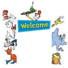 dr seuss teacher appreciation   Dr Seuss Welcome Door Dcor From Smilemakers wallpaper