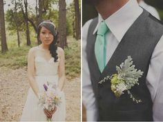 Boutonniere color combo