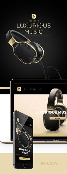 The Triangle Headphone Branding project