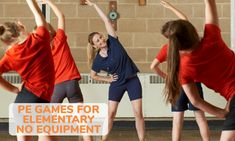 18 Fun PE Games Needing No Equipment – Kid Activities - Pin Hairs Physical Activities For Kids, Physical Education Lessons, Pe Activities, Health Education, Movement Activities, Character Education, Building Games For Kids, Team Building Activities, Pe Games Elementary