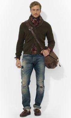 Carded Cotton Shawl Cardigan - Polo Ralph Lauren Cardigan & Full-Zip - RalphLauren.com