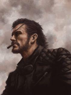 Big Boss, Metal Gear Solid V: The Phantom Pain artwork by Pekanpeka.