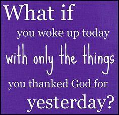 thankful saying