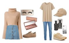 """""""Sin título #80"""" by carlitha-osses on Polyvore featuring Boohoo, Casetify, Urban Decay, Topman, Uniqlo, New Balance, HUGO y Polo Ralph Lauren"""